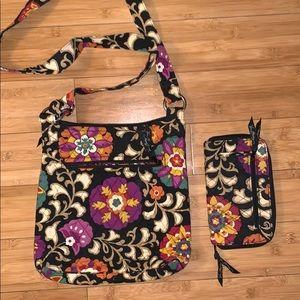 Vera Bradley Suzani Crossbody Bag with Wallet